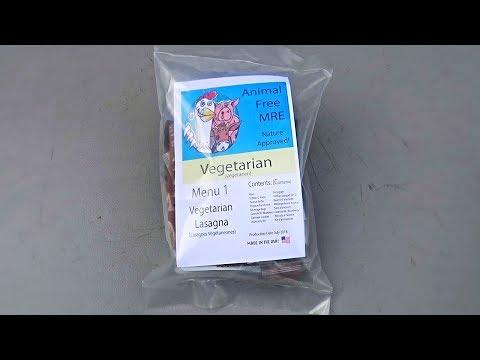 Tasting US Vegetarian MRE (Meal Ready to Eat) Taste Test
