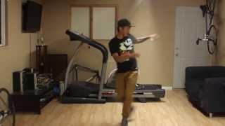 House Dance Tutorial - Backwards Jog