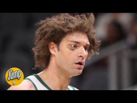 Robin Lopez stalked an opponent down the court after getting dunked on and trash-talked | The Jump