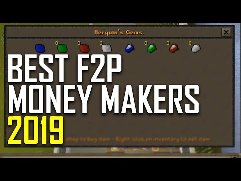 BEST F2P Money Making Methods 2019 OSRS (Guide) Part 5