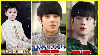 차은우 1~22살까지 변천사/Astro Cha Eunwoo Transformation From Childhood To 22 Years Old