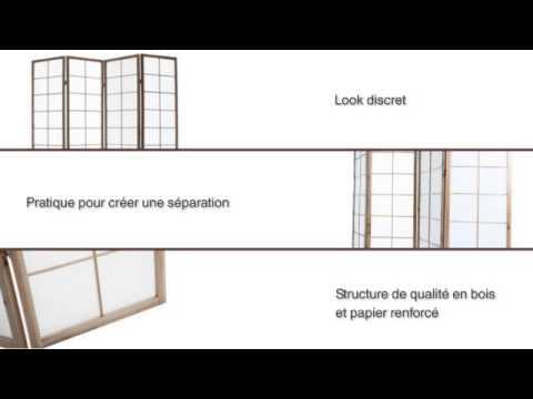 Installation de panneaux coulissants japonais shoji men doovi - Paravent japonais coulissant ...