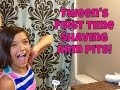 TWEEN'S First Time Shaving ArmPits!