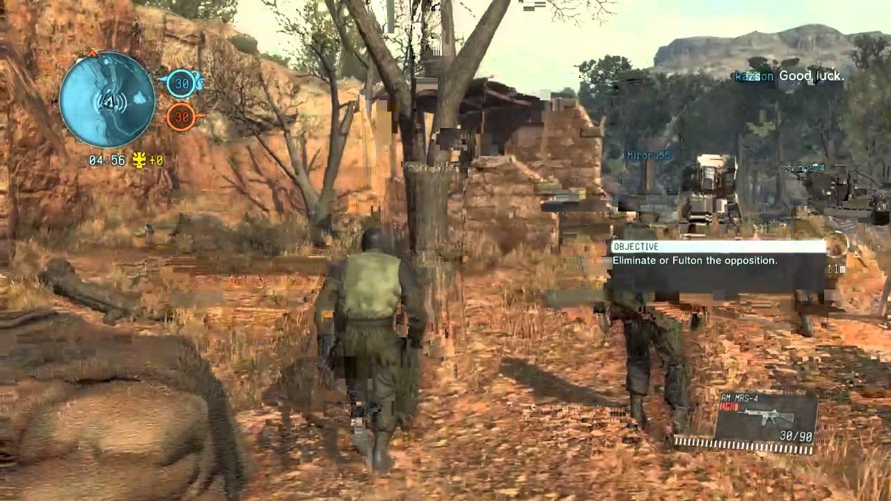 Metal Gear Online 3  Bounty Hunter  Map Jade Forest  Day  YouTube