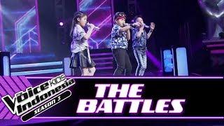 Moses vs Kathlynn vs Andrew I Miss U Battle Rounds The Voice Kids Indonesia Season 3 GTV