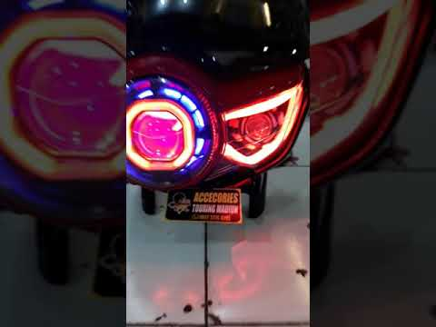 Headlamp pece tiger revo isian proji hid aes 35 watt + lampu ... on