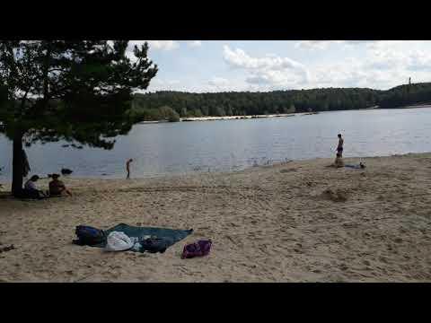 Пляж в Лыткарино, он же Волкушинский карьер, обзор