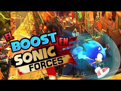 El Boost en Sonic Forces