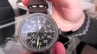 Laco Dortmund 45mm - Flieger Pilot's Watch Unboxing