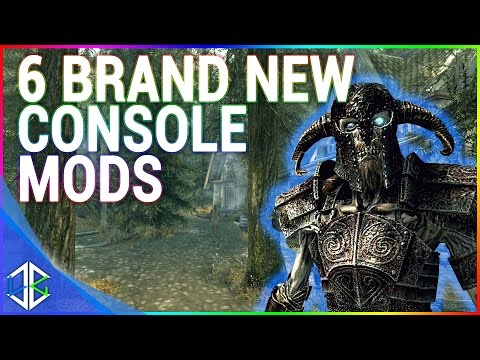 6 BRAND NEW Console Mods 24 - Skyrim Special Edition (XBOX/PS4/PC)