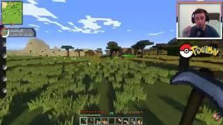 Minecraft: Pixelmon - #4 - EeOneGuy стал Покемоном (Pokemon Mod 4.0.5, Покемоны в Майнкрафте)