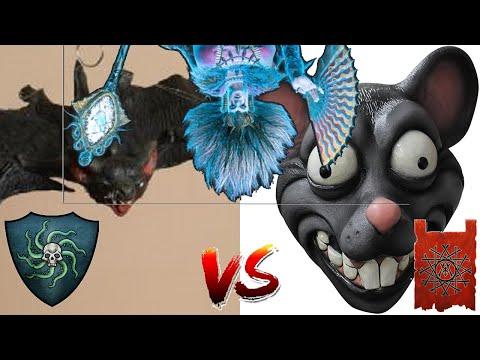 BATS & CRABS OH MY ! Vampire Coast vs Skaven - Total War Warhammer 2  