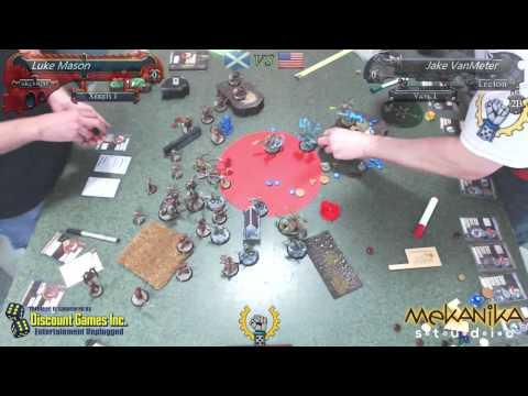 WTC Round 2 - Luke Mason (Scotland) vs. Jake VanMeter (USA)