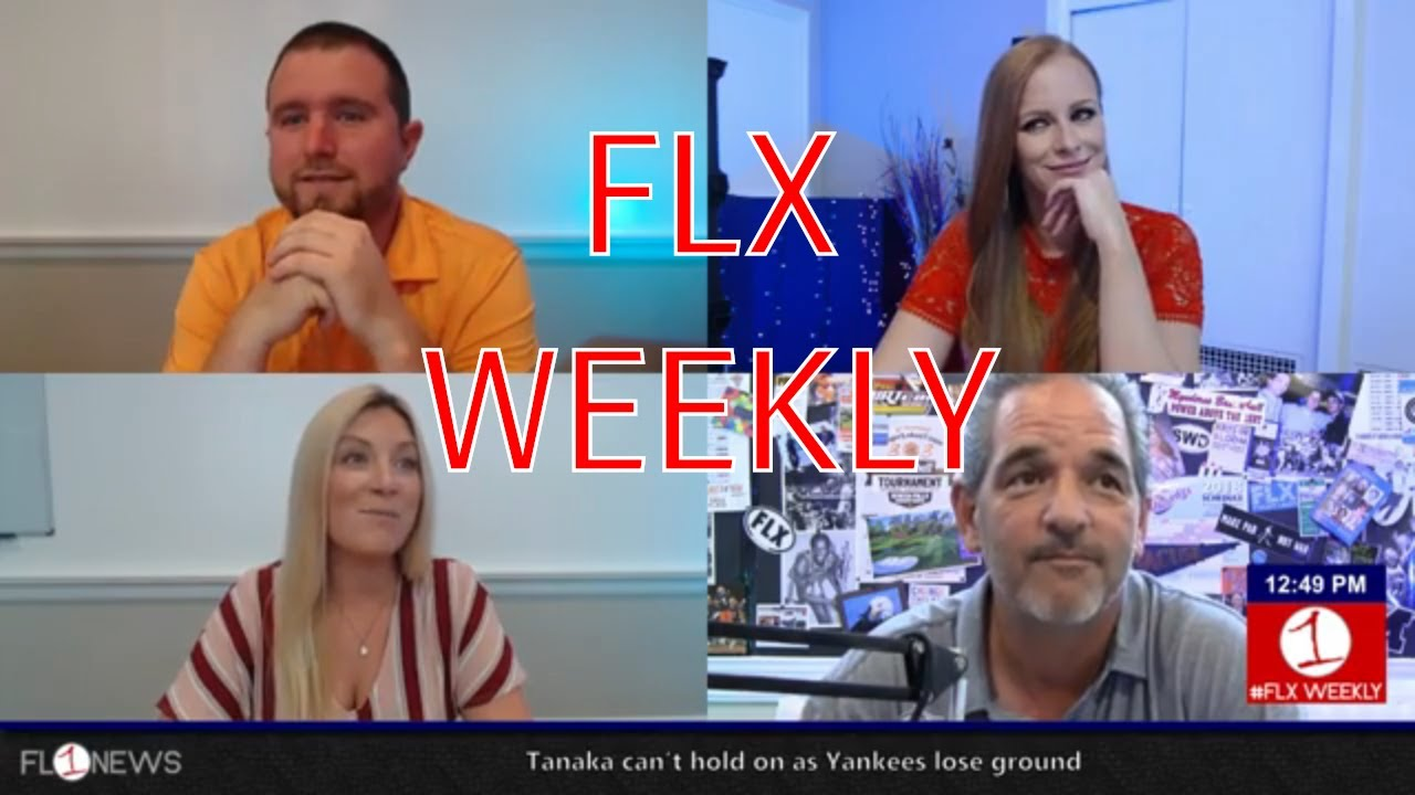 Labor Day Weekend Edition .::. FLX Weekly with Jessica Lahr 8/29/18
