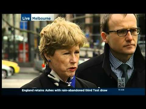 Christine & Adam launch Greens high speed rail plan
