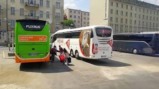 видео Автобус Краков - Париж