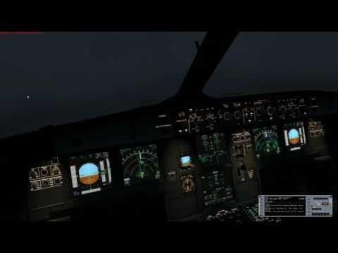 A320X APROACH GLASGOW