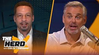 Chris Broussard reacts to LeBron, Lakers' 3-1 lead in series, talks Heat vs Celtics | NBA | THE HERD