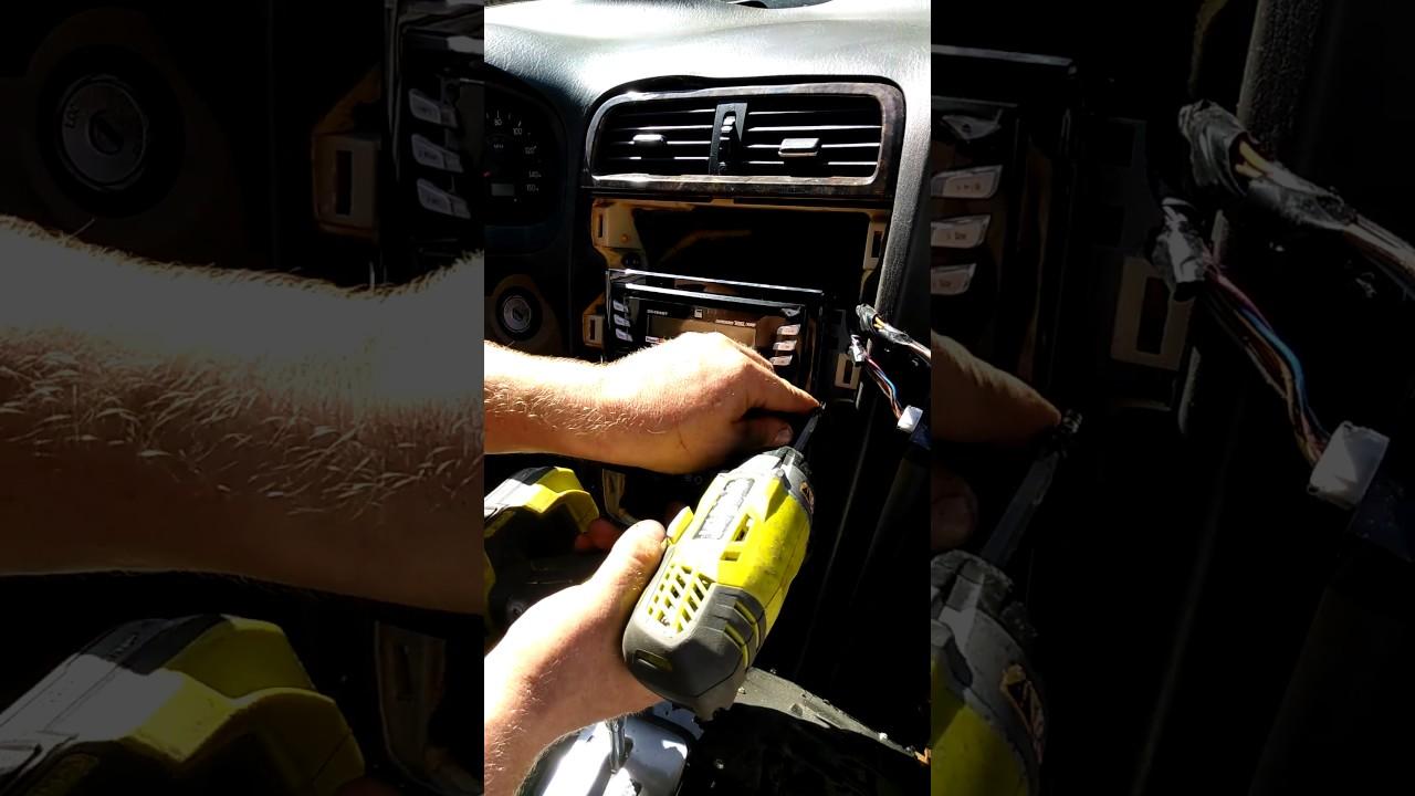 Hyundai Xg300 Stereo Install Pt 3 Of 4
