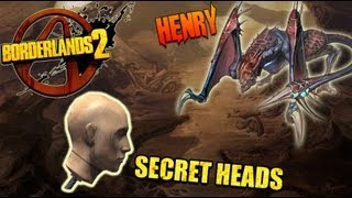 Borderlands 2 Heads: Henry Secret Head Drops