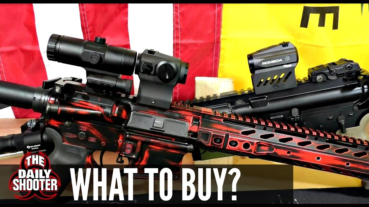 Red Dot With Magnifier OR Variable Magnification Optics What to Buy?