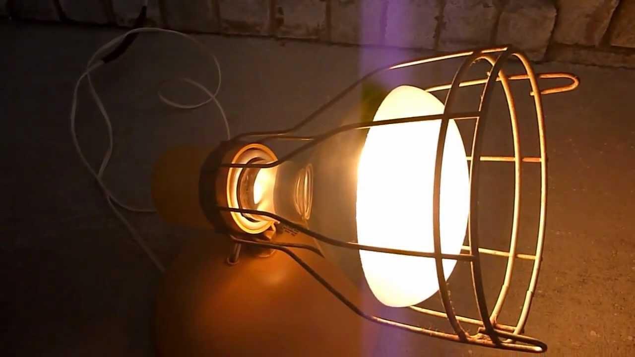 General Electric UV Sunlamp. Model RSK6