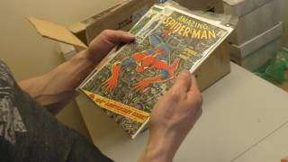 Unboxing a $2,200 Comic Book Collection | Sell My Comic Books