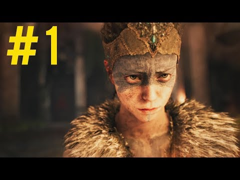 HELLBLADE SENUA'S SACRIFICE - Lets Play Part 1 - Introduction (1440p 60fps)