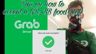 Tips On How to accept a GRAB food Job order.. screenshot 4