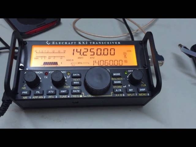 Hands-on with the new Elecraft KX2   KK4DSD