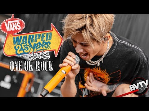 """ONE OK ROCK - """"The Beginning"""" LIVE! @ Warped Tour 25th Anniversary 2019 ライブ 演奏シ"""