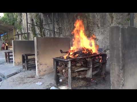 Похороны в Непале - сжигание тела