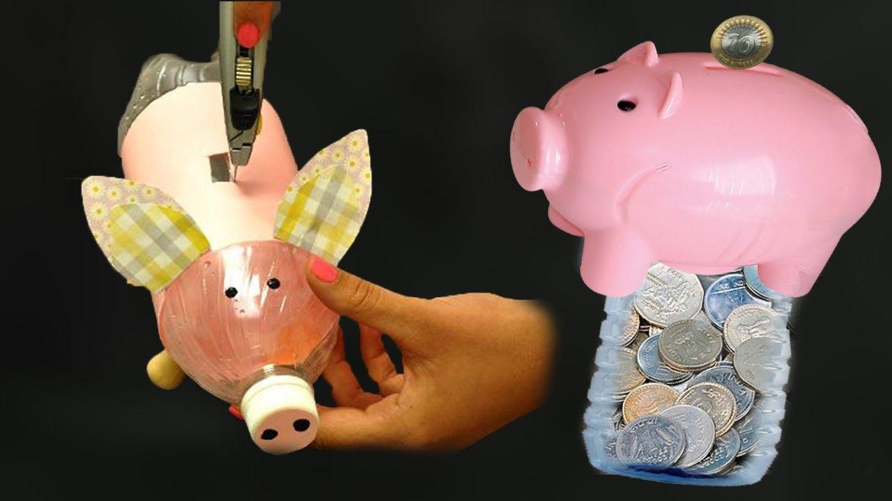 How To Make Kiddy Bank For Kids Making Piggy Hacks Duniya
