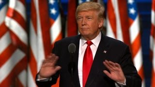Did Trump ask RNC crowd to stop anti-Clinton chant?