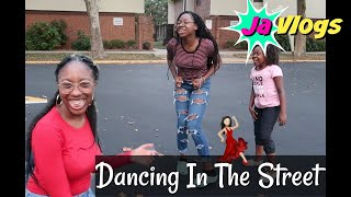 DANCING IN THE STREET | Family Vlogs | JaVlogs