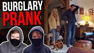 BURGLARY PRANK ON MY PARENTS