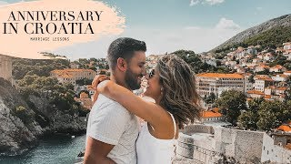 CROATIA TRAVEL VLOG 1 | 5 THINGS WE'VE LEARNED ABOUT MARRIAGE