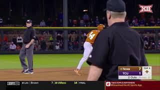Texas vs TCU Baseball Highlights - Game 2