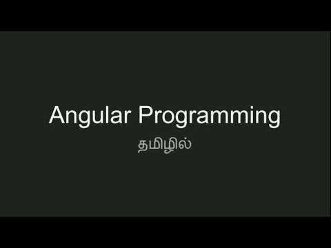 #1 Angular Prerequisites   Computer Programming Tutorial in Tamil thumbnail