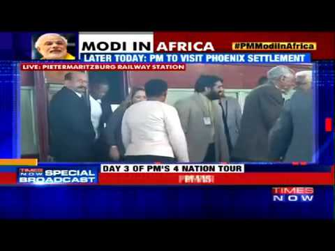 23401 Pervomaisky Welt 002 003 Times Now PM Modi Visits South Africa Station Where Gandhi Was Thrown