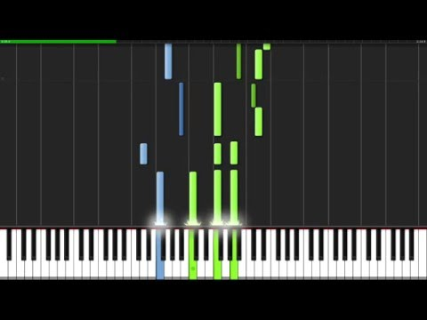 Sarabande - Georg Friedrich Händel [Piano Tutorial] (Synthesia)