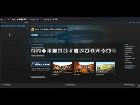 Как переустановить игру в Steam?