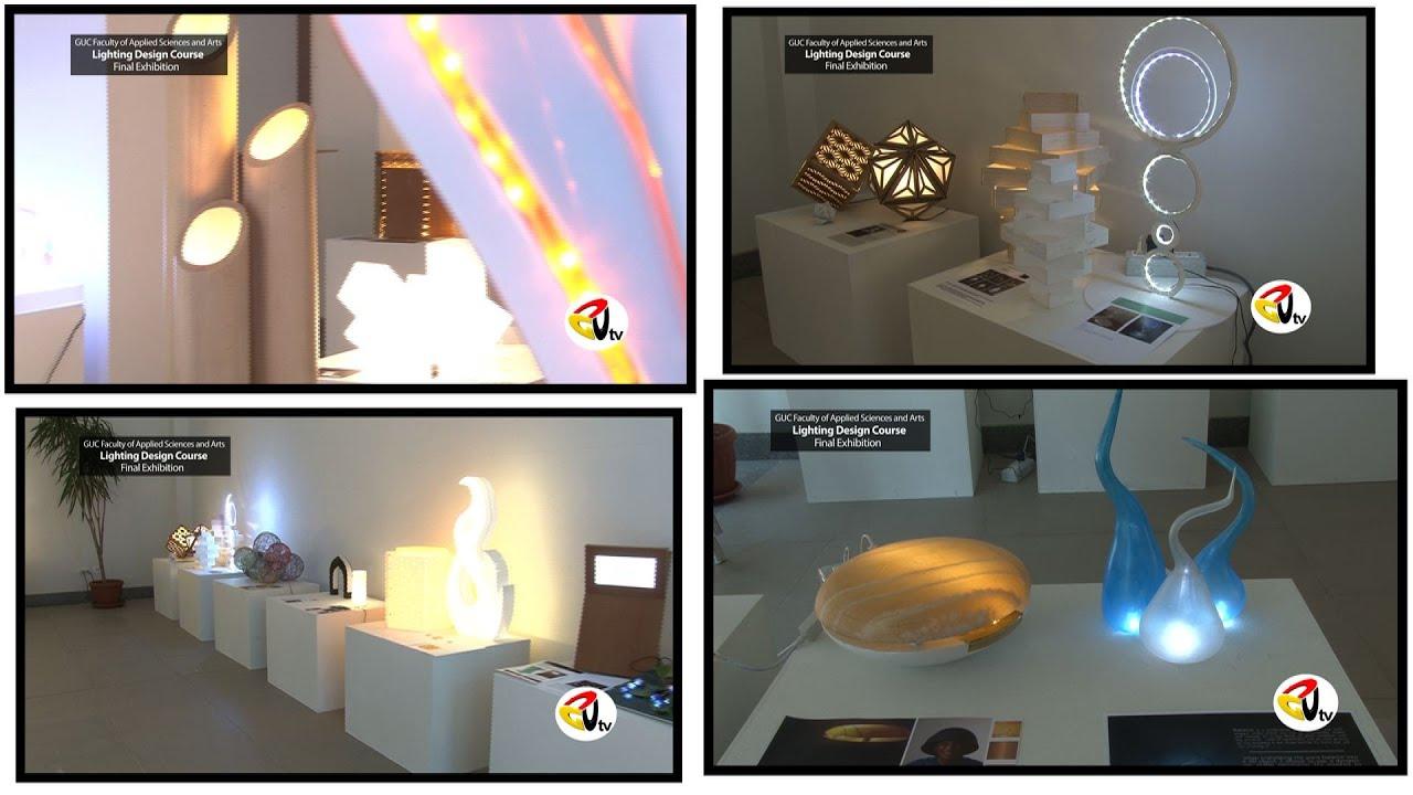 Light design course final exhibition youtube
