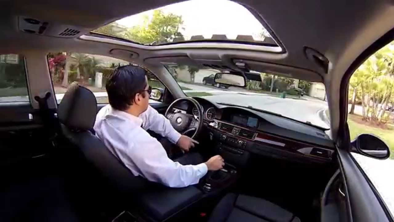 BMW 335i E92 Drive View From Inside YouTube