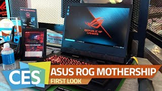 Asus ROG Mothership Gaming 2-in-1 Laptop | A True Desktop Replacement