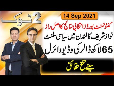 Nawaz Sharif Ka London Mein Siasi Stunt    Cantonment board elections 2021 results    2 Tok Show