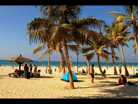 Jumeirah Beach Park Dubai FULL HD