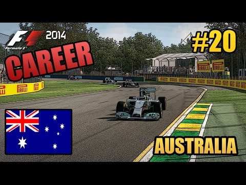 F1 2014 Career Mode - 20 - Australia - Mercedes (Legend AI)