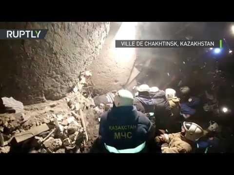 Un bâtiment de plusieurs étages s'effondre au Kazakhstan, neuf victimes