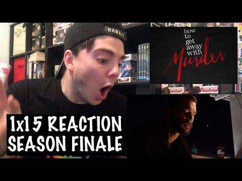 HOW TO GET AWAY WITH MURDER - 1x15 'IT'S ALL MY FAULT' REACTION